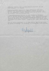 Brev til Aust-Agder-Arkivet fra Lillesand kommune 14.02.1977 s. 2