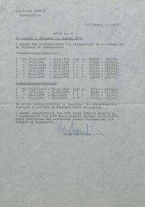 Notat om brannen i Rådhuset, Lillesand kommune 01.09.1977