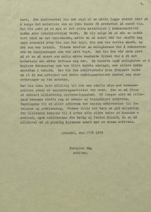 Rapport etter brannen i Rådhuset, Torbjørn Låg 17.08.1976 s. 4
