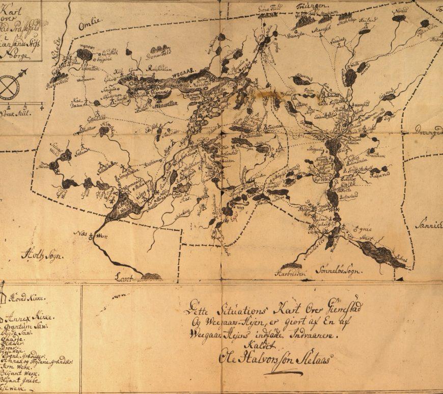 Kart Avtrykk