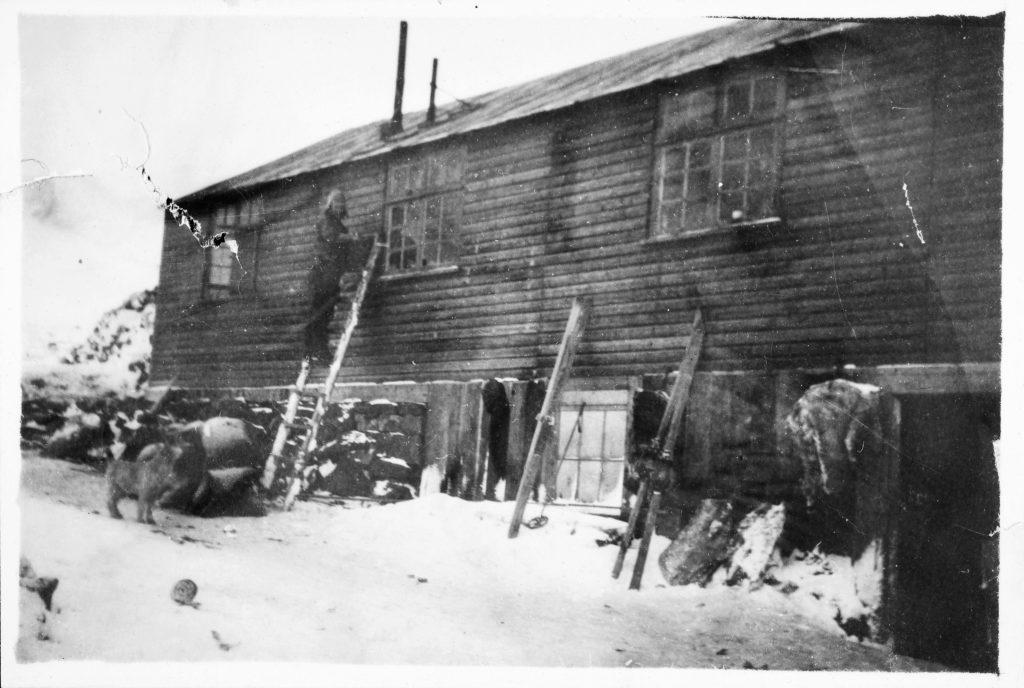 Hovedstasjonen på Jan Mayen under andre verdenskrig