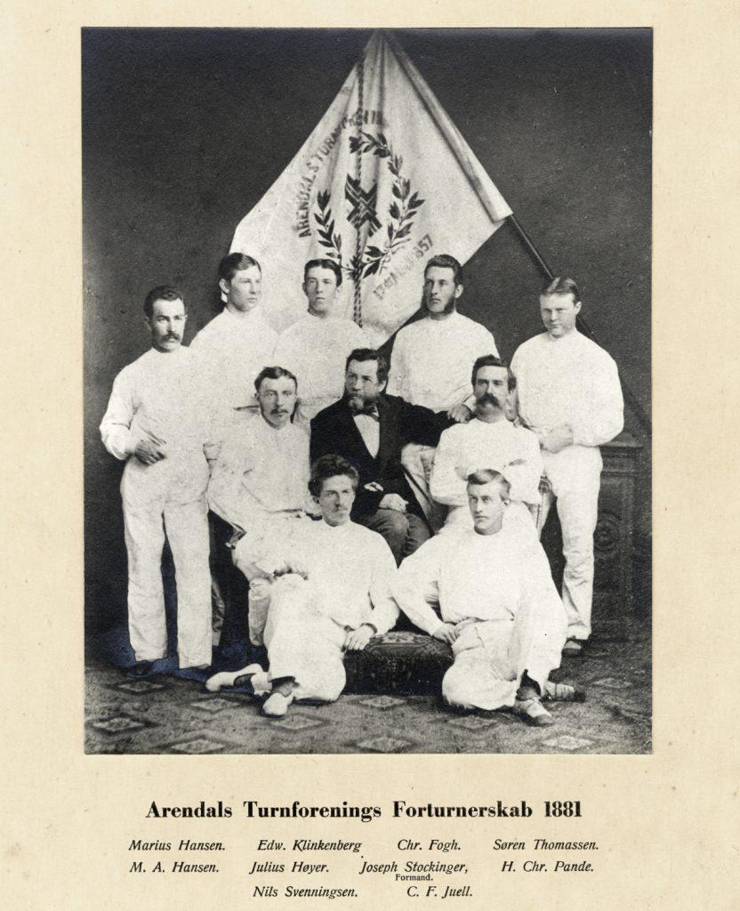Arendals Turnforenings Forturnerskab 1881