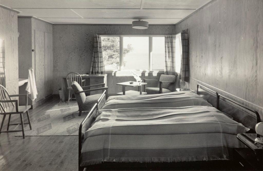 Hotellværelse ved Strand Hotel Fevik