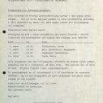 Innkalling til informasjonsmøter - Billeaksjonen Tvedestrand og Vegårshei 1979