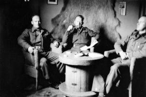 Offisermessen i Akureyri på Island i 1942