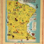 Feriekart over Minnesota - Album fra Sanford Junior High School i Minneapolis til Myra skole 1952