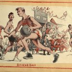 Basketball i Minnesota - Album fra Sanford Junior High School i Minneapolis til Myra skole 1952