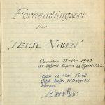 Forhandlingsbok for Terje Vigen