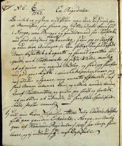 Avskrift av Peter Dahls testamente 28.09.1787 s. 1