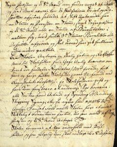 Avskrift av Peter Dahls testamente 28.09.1787 s. 10