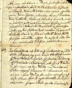 Avskrift av Peter Dahls testamente 28.09.1787 s. 12