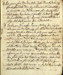 Avskrift av Peter Dahls testamente 28.09.1787 s. 2