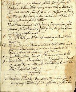 Avskrift av Peter Dahls testamente 28.09.1787 s. 8