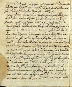 Avskrift av Peter Dahls testamente 28.09.1787 s. 9