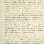 Avskrift av sjøforklaring 21. oktober 1898 vedrørende kollisjon mellom Bark Alm og D/S Princess Josephine s. 3