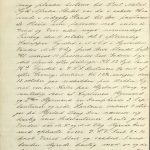 Avskrift av utdrag fra Bark Alms skipsjournal 21. oktober 1898 s. 1