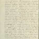 Avskrift av utdrag fra Bark Alms skipsjournal 21. oktober 1898 s. 2