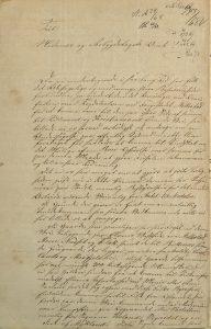 Brev til Nedenæs og Robygdelagets Amt vedrørende bro over Tovdalselva 6. april 1868 s. 1