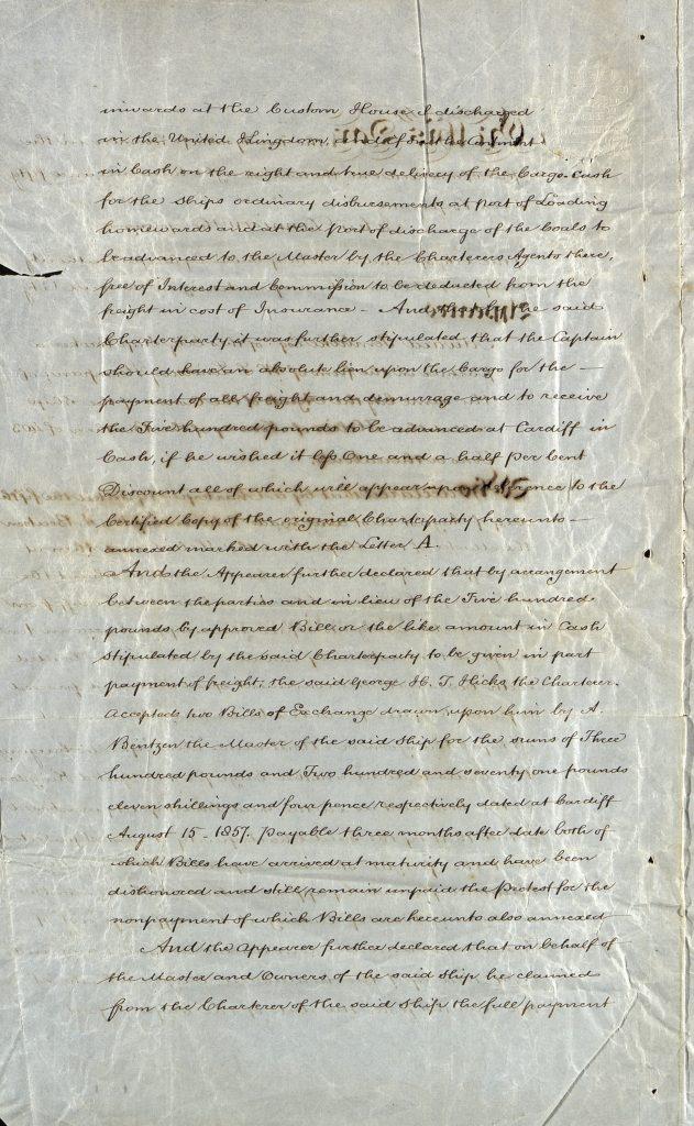 Notary Public 26. november 1857 s. 2