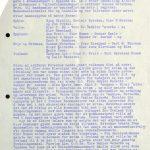 Utskrift fra møteboka til fellesformannskapet i Setesdal 16.10.1974 s. 1