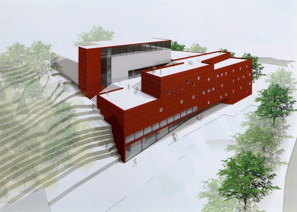 Designutkast Velkommen fra LPO Arkitektur & Design perspektiv