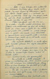 Møtereferat fra årsmøte i Lillesand Idrettslag 14.05.1945 s. 1