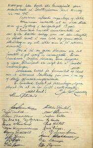 Møtereferat fra årsmøte i Lillesand Idrettslag 14.05.1945 s. 2