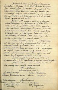 Møtereferat fra styremøte i Lillesand Idrettslag 17.06.1941