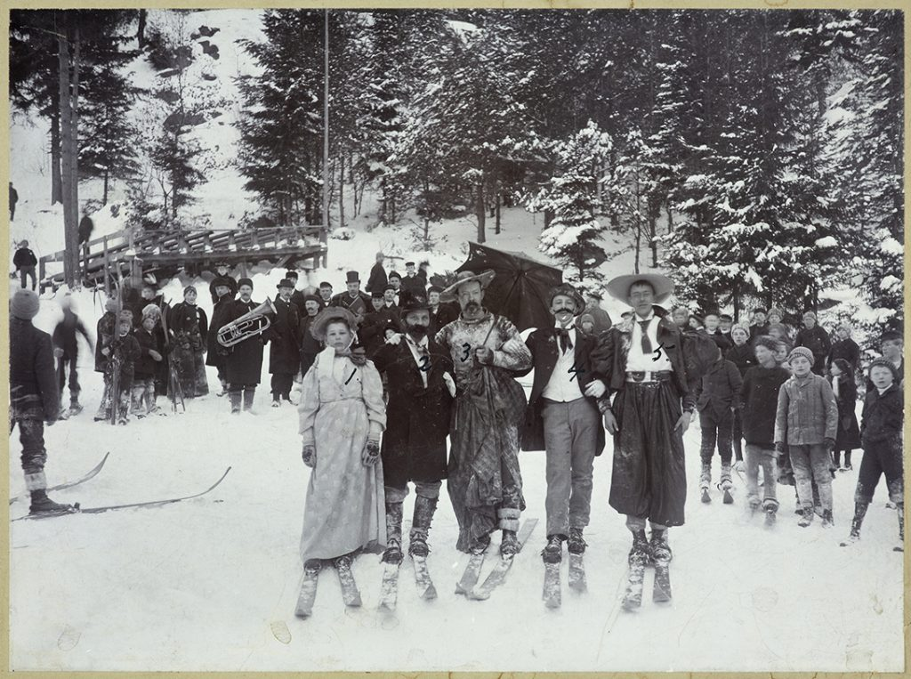 Skiløpene i Gaasåsen vinteren 1897