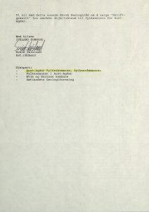 Brev til Norsk Geologiråd fra Iveland kommune 07.02.1994 s. 2