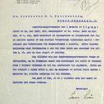 Brev til P.C. Falchenberg fra Advokaterne Lous & Bergh 16.02.1918