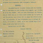 Kontrakt vedrørende søk og drift på apatitt på Vatnestrand - Utskrift av Sands Sorneskriveris pantebog 08.09.1881