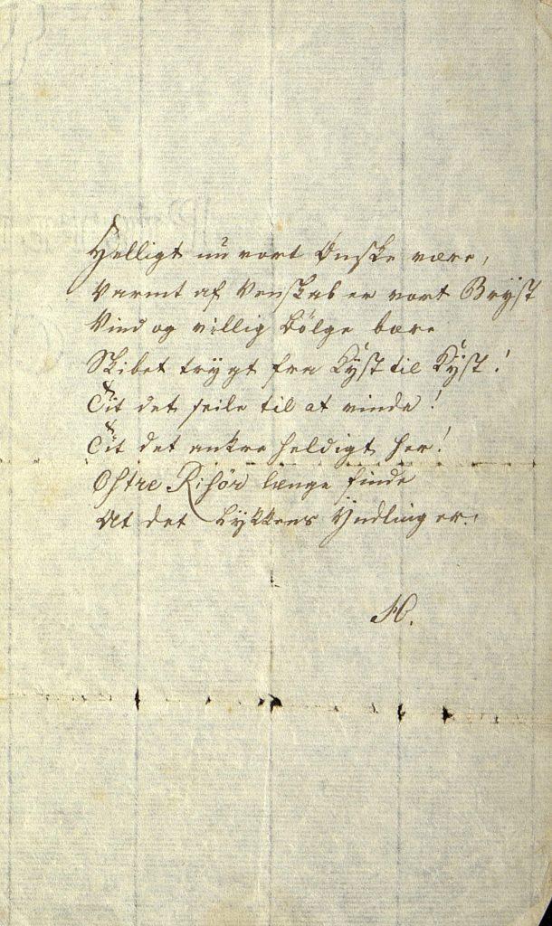 Sang til stabelavløpning Østre Risør 14.05.1795 s. 3