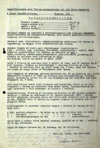 Spesifikasjoner M/F Øisang 28.03.1950