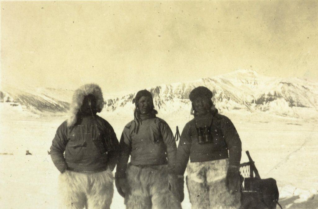 Besøk av tre inuitter