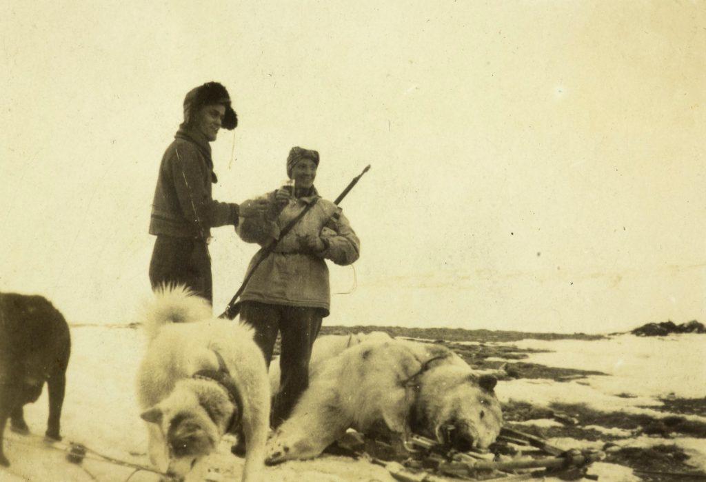 Feiring av nedfelt isbjørn