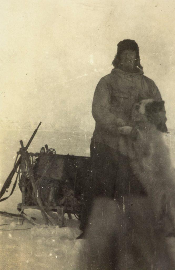 Ole Andreas Bachke med hund