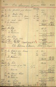 Protokoll over tømmerleveranser til Risør Træmassefabrik 1924 s. 4
