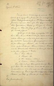 Undersøkelsesrapport for Risørbanen 31.01.1899 s. 1