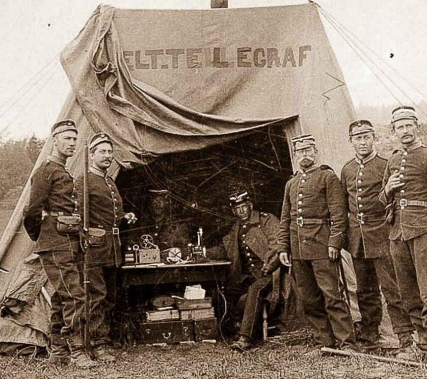 Militærøvelse Gimlemoen 1914