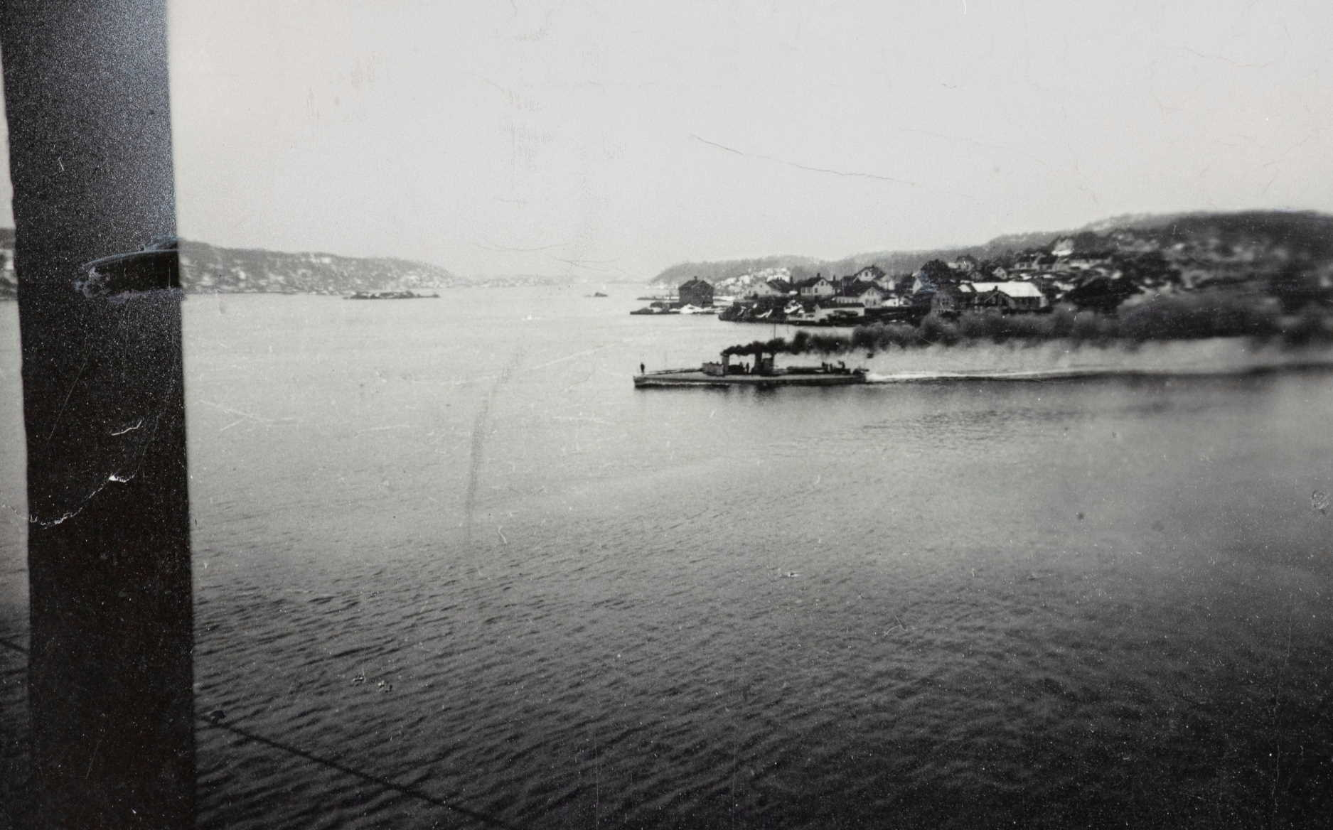 Torpedobåten Jo 9. april 1940. Foto: Leif Michaelsen
