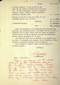 Brev til Østre Søndeled og Risør Fjordruter fra Anders Grydeland 18.07.1954 s. 2