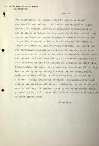 Brev til Svenn Stray fra Østre Søndeled og Risør Fjordruter 12.02.1955 s. 2