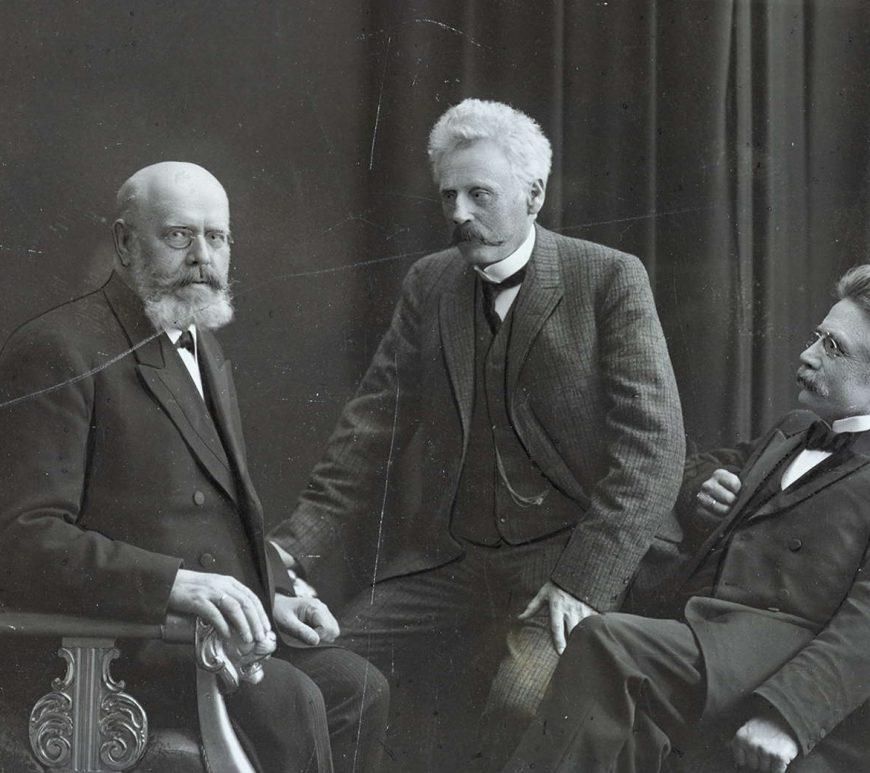 Den siste norske Statsråddelegasjon i Stockholm 1905