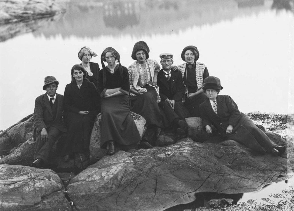 St. Hans feiring på Borøen 1912