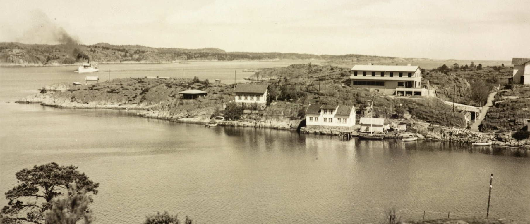 Lyngør Sommerpensjonat 1947