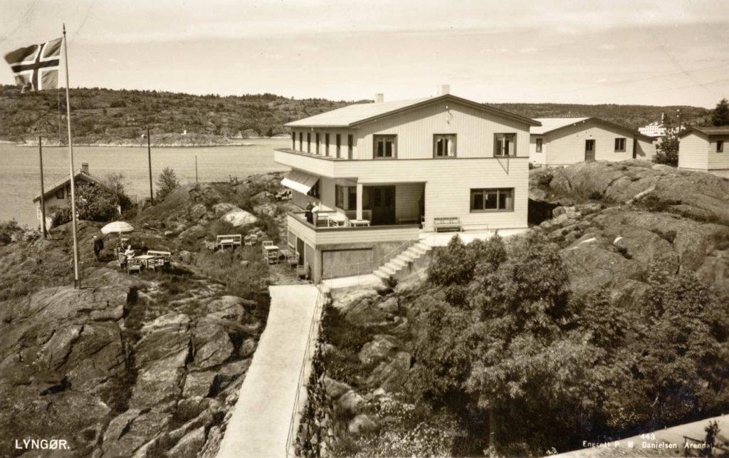 Lyngør Sommerpensjonat rundt 1946/47