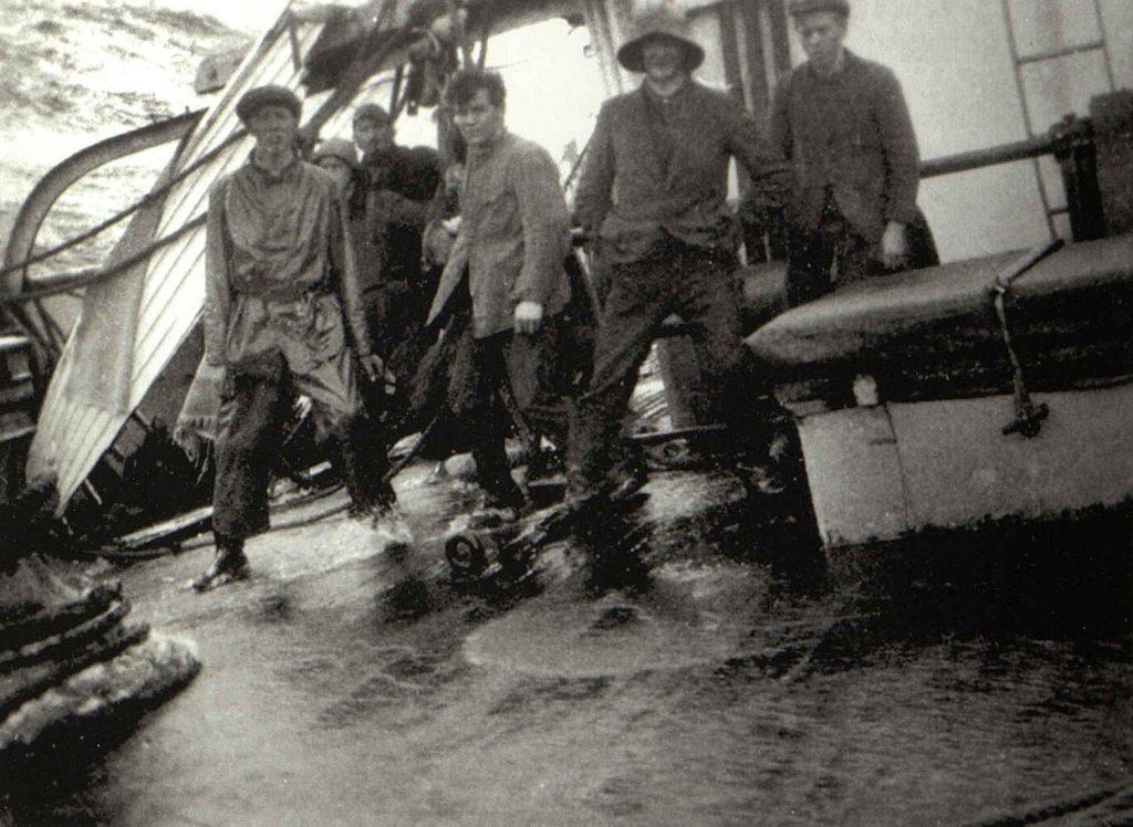 "Om bord i ""Skaregrøm"" under uværet i Atlanterhavet 1926"