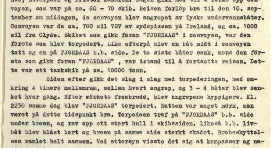 Vardaas Posten nr 1 1953 Kaptein Saltnes beretter