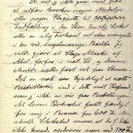 Avskrift av brev fra Gustav Vigeland til Larpent 19.03.1905 s. 1